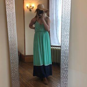Gorgeous 50 shades of blue maxi dress 👗